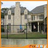 Алюминий три направляющих декоративных безопасности жилых сад ограждения