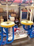 HDPE u. LDPE Doppelt-Kopf Film-durchbrennenmaschine