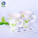 Taza de papel disponible de encargo respetuosa del medio ambiente promocional