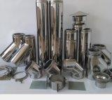 Pipe de conduite de cheminée de cheminée pour la chaudière de gaz