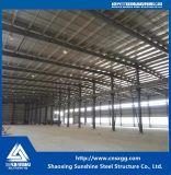 Vorfabrizierte helle Stahlkonstruktion für Werkstatt, Stahllager