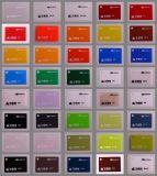 Ontruim het Gekleurde Blad van het Plexiglas (TGV 01)