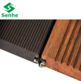 Suelo de bambú al aire libre del Decking con color oscuro