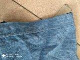 camice degli uomini del manicotto tessute Chambray del ringrosso 100%Cotton brevi