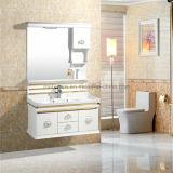 Nice vanité simple de salle de bains de PVC, Cabinet de salle de bains de PVC