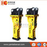 Heißer Verkaufs-kleiner Löffelbagger-hydraulischer Hammer für Miniexkavator