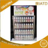 Compteur cosmétique d'étalage de renivellement acrylique en plastique fait sur commande