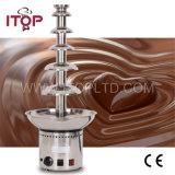 Une fontaine de chocolat en acier inoxydable commercial (DHC)