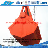 gru a benna elettroidraulica della copertura superiore 2-30m3 per uso marino