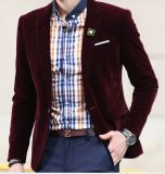 O New Spring 2016 Men Velvet Casual Jacket