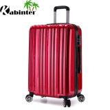 多彩なトロリー荷物ABS+PCの荷物袋のHardsheel旅行荷物