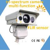 機密保護の監視の長距離ビデオPTZ IR赤外線カメラ