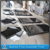 Granit noir de Shanxi brillant absolu pour carreaux, comptoirs en pavés