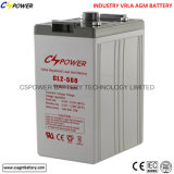 Batterie d'acide de plomb 2V1000ah de garantie du fournisseur 3years de la Chine