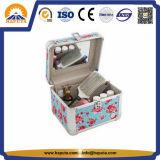 Милая алюминиевая коробка состава конструктора с зеркалом (HB-3202)