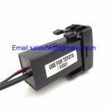 La CC 12V si raddoppia caricatore dell'automobile del USB con audio che carica la misura veloce per Nissan/Toyota/Toyota Vigo/Honda/Mitsubishi/Suzuki/Mazda