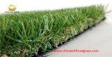 Suppiler dorato cinese che modific il terrenoare erba artificiale per il giardino
