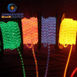 95X73cm Moyenne Santa Riding Motorcycle LED Motif Rope