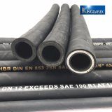 Tubo flessibile idraulico di gomma della materia prima di spirale del certificato ISO9001