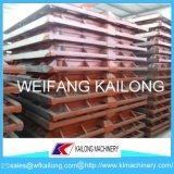 Boccetta di modellatura con la strumentazione della fonderia della staffa di fonderia di alta qualità