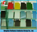 5mm rückseitiges angestrichenes rotes angestrichenes Glasglas/dunkles angestrichenes Glas für Dekoration