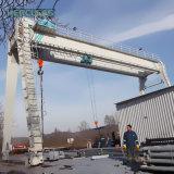 Double poutre grue de portique électrique de chariot à 30 tonnes