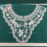 綿のかぎ針編みのネックレスの刺繍のレースカラーファブリック織物の衣服