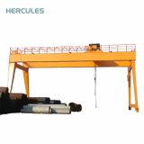 Grue portative de port maritime de grue de Goliath de portique de 10 tonnes