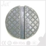 Protetor entalhado universal do trilho do frame da almofada de Jack do tamanho médio do poliuretano