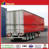 Индикатор Tri-Axle грузовые перевозки шторки безопасности со стороны Полуприцепе