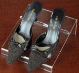 Présentoirs acryliques clairs faits sur commande en gros de Madame Shoes