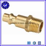 Connecteur mâle pneumatique d'air de mini tube en laiton (ajustage de précision rapide pneumatique)
