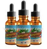 E-Liquid/E-Juice für E-Zigaretten (Mangofruchtaroma), kundenspezifische Entwürfe und die Firmenzeichen begrüßt