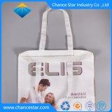 La impresión de imágenes personalizadas Tejida Bolsa de compras