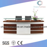 Wooden Furniture Office Counts White and Black Reception Desk (CAS-RD1802)