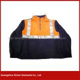 Vêtements de travail r3fléchissants de sûreté de parka de jupe de bleu marine de visibilité élevée (W375)
