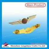 비행거리 날개는 완료된 접어젖힌 옷깃 Pin 기장 금을 적응시킨다
