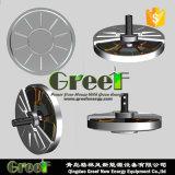 수직 축선 바람 발전기를 위한 Coreless 자석 발전기