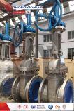 Aço inoxidável OEM ANSI 150lb válvula gaveta cônica de cunha