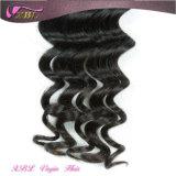 Путать и человеческие волосы Shedding Free Virgin бразильские Milky Way