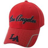 Gorra de béisbol caliente de encargo del panel de la venta 6 con el Applique Bb147