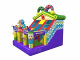 Circus Play Inflatable Bouncer Slide for Kids Chsl1125