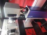 Машина маркировки лазера волокна гравировки серебряной ложки для металла