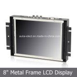 "8"" TFT industrial robusto monitor com painel táctil de 4 fios"
