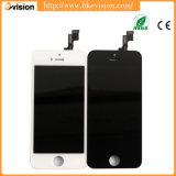 Affissione a cristalli liquidi nera & bianca dello schermo del telefono mobile per l'originale di iPhone 5s, per il convertitore analogico/digitale dell'affissione a cristalli liquidi di iPhone 5s