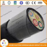 0.6/1kv a recuit le type de câble ignifuge isolé par XLPE de plateau de gaine de PVC de câblage cuivre Tfr-CV