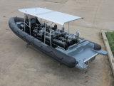 中国Aqualand 30feet 9mの堅く膨脹可能なモーターボートか漁船またはスポーツボートまたは客船(RIB900)