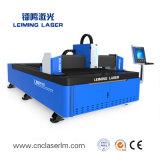 Aço Inoxidável de corte de metais 500W máquina de corte de fibra a laser LM3015g3