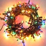 5mm cortina LED Mini música Icicle Luzes, 3m X 3m 300LEDs LED interior exterior branco quente Luzes de String para casamento festa, Home, sala de estar decoração (UL (CL01)