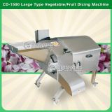 Tipo grande aprobado Dicer vegetal, máquina de corte en cuadritos del CE CD-1500 de la fruta
